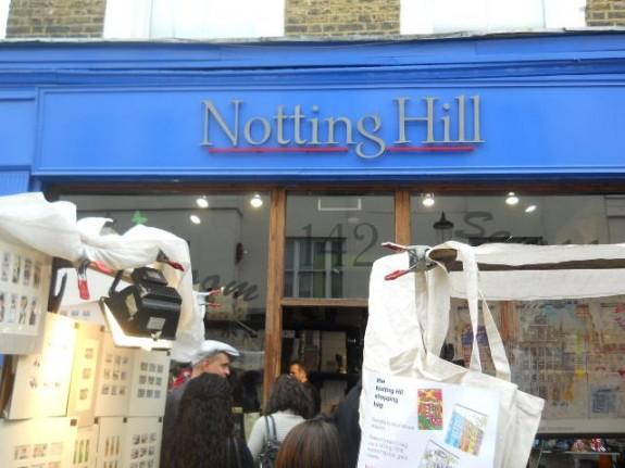 Unfortunately, the world-famous Travel Book Shop from the film Notting Hill now only dispenses shoes to the curious customer.