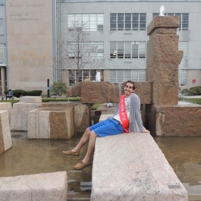 Speedos, Nachos and Superpowers: How Mr. COM Chris Schretzenmayer Prepared for the Mr. and Ms. BU Pageant