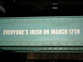Everyone is Irish on March 17th