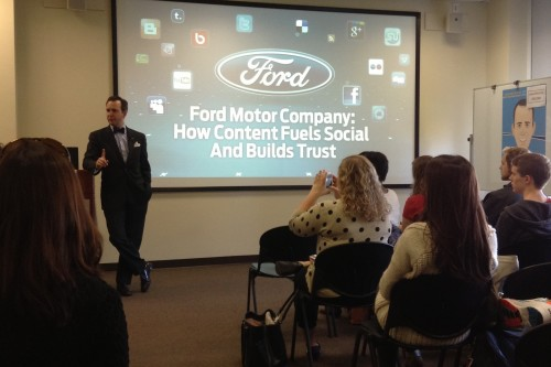 Scott Monty of Ford Motor Company Comes to BU