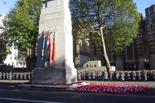 Remembrance Sunday in London