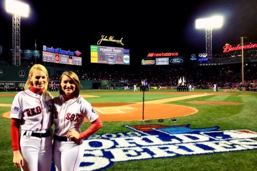 Tales of a Red Sox Ball Girl