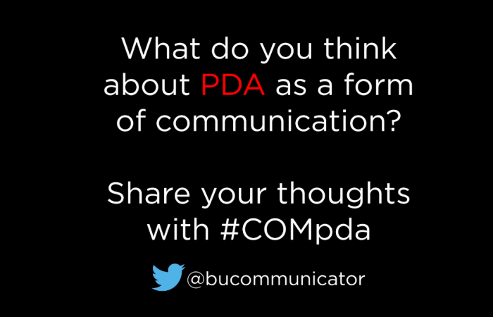 What do you think about PDA?
