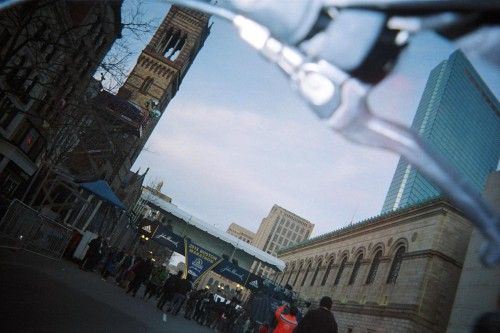 A Visual Cycle: Images of the Boston Marathon Through a Rider's Lens