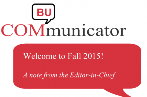 Welcome to Fall 2015!