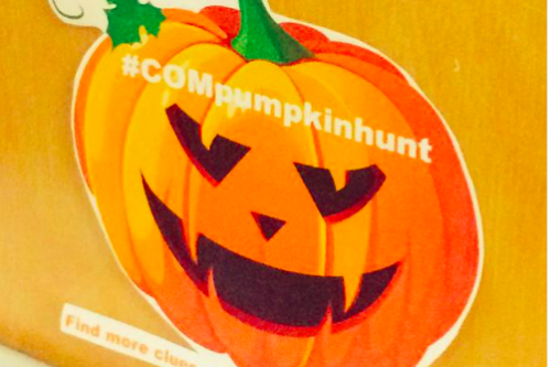 It's the Great COM Pumpkin Hunt, Charlie Brown!