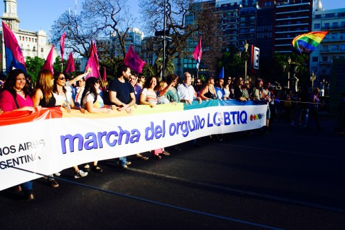 LGBTIQ Pride March through Buenos Aires