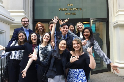 New York City Agency Tours Forge New Path for PR Students