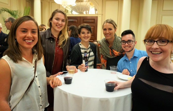 Photos from the Graduate Student Welcome Reception